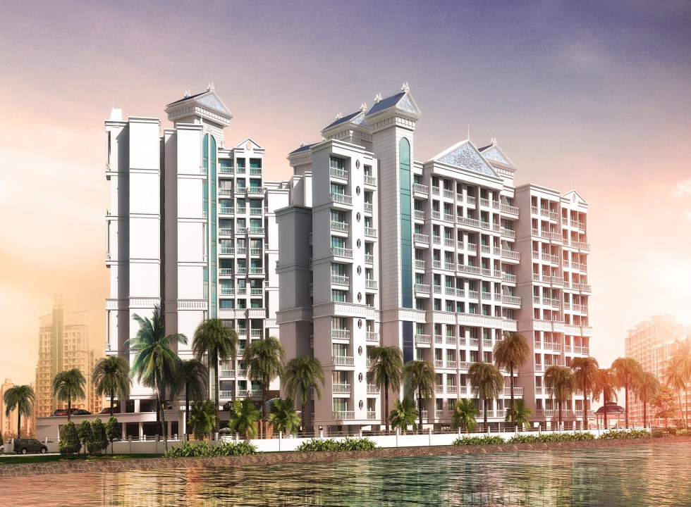 1 & 2 BHK Flats in Panvel, Navi Mumbai in Lakhani La Riveria