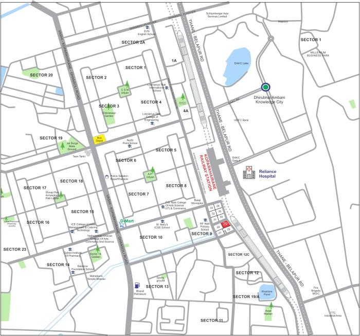 Arham Satyam Harmony Location Map