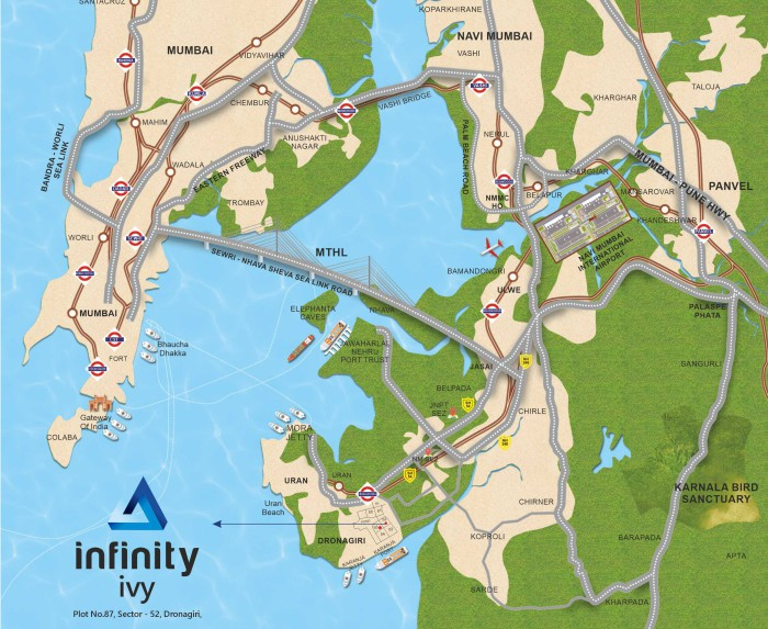 Infinity ivy Location Map
