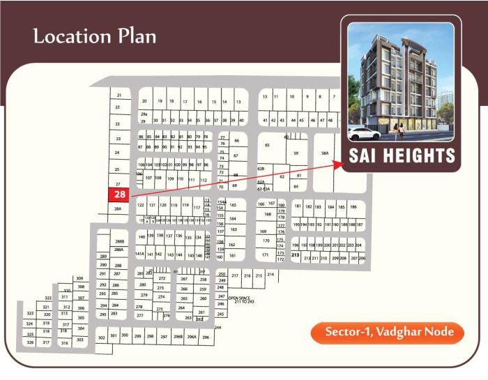 Sai Heights Location Map