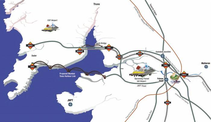 Ved Brillante Location Map