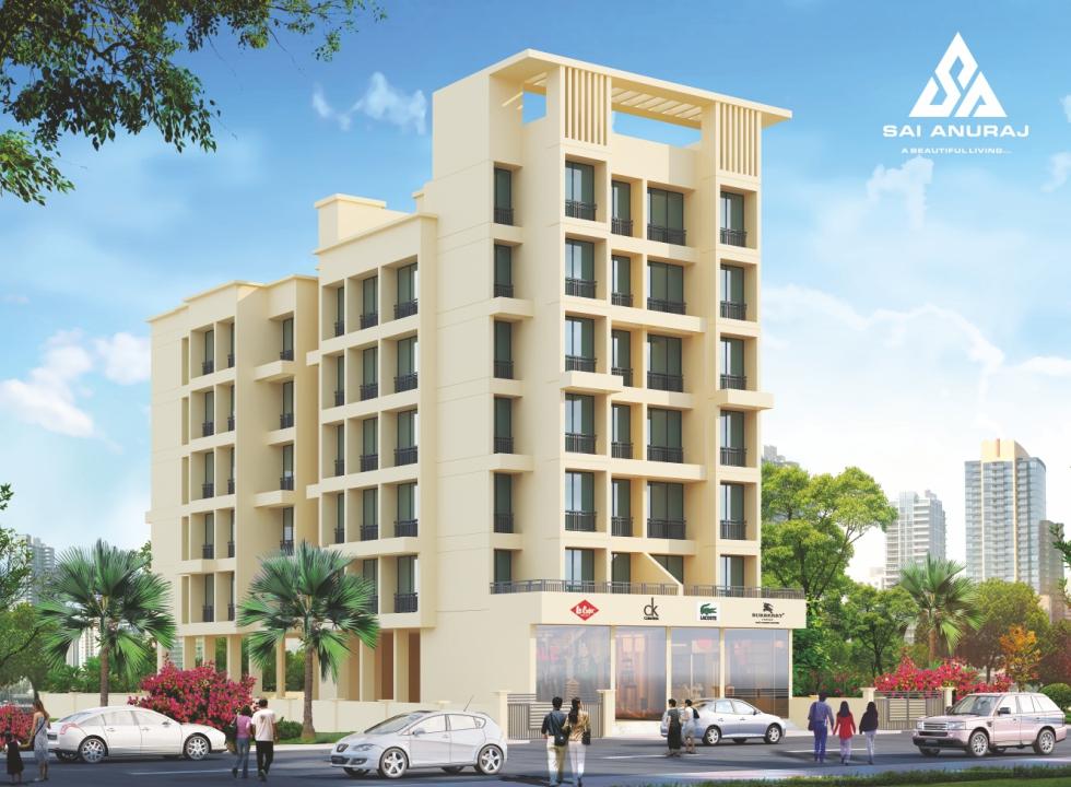 1 & 2BHK Flats in karanjade Panvel, Navi Mumbai in JOSHI SAI ANURAJ - Sqmtrs