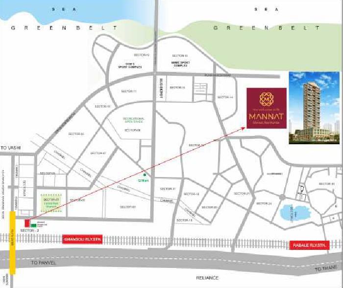 Welkin Mannat Location Map