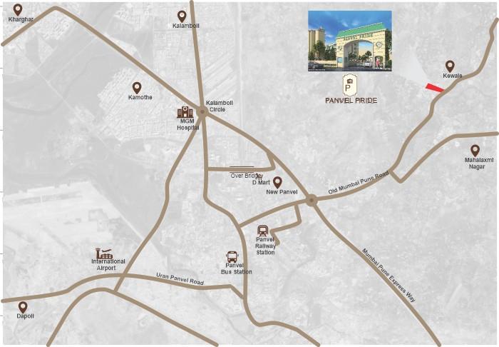 Ashiana Panvel Pride Location Map