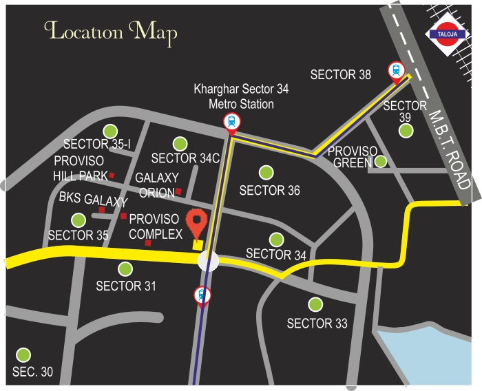Greenwoods Location Map