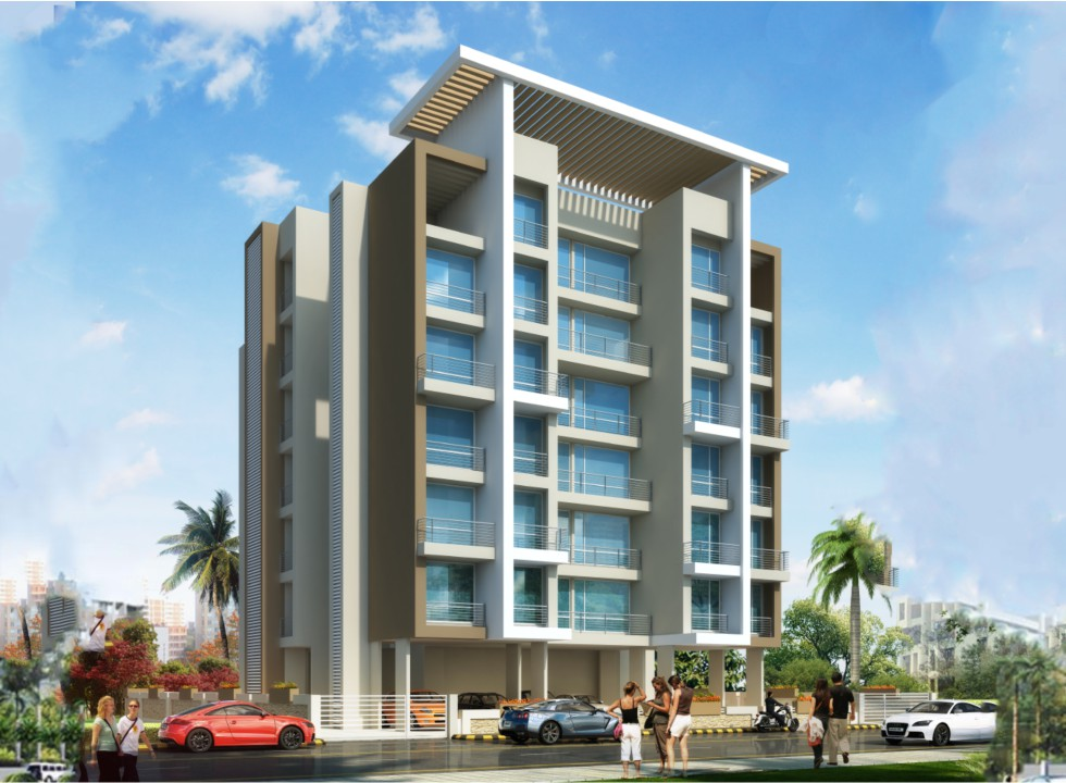 1 & 2 BHK Luxury Flats in Opp. Police Station, Kalamboli - 410218 in Sadguru Planet