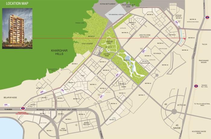 Sejal Suyash Galaxy Location Map