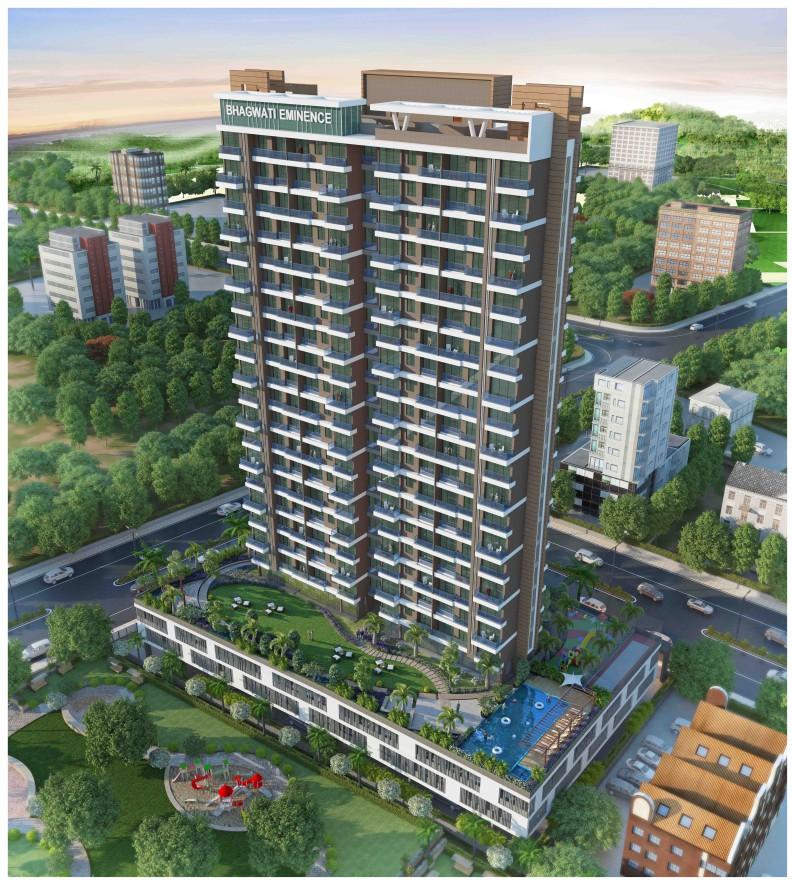 2BHK Flats in Nerul Navi Mumbai in Bhagwati Eminence - Sqmtrs