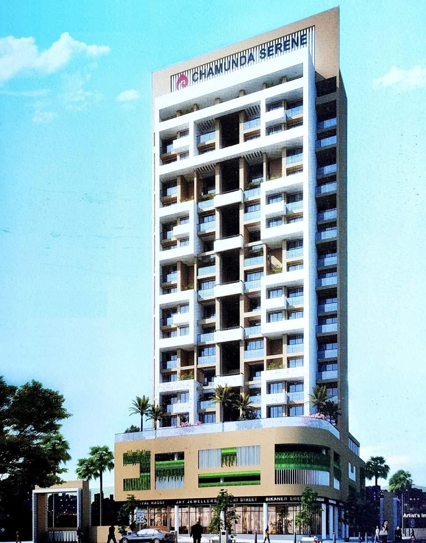 2BHK Flats in Seawoods Navi Mumbai in Chamunda Serene - Sqmtrs