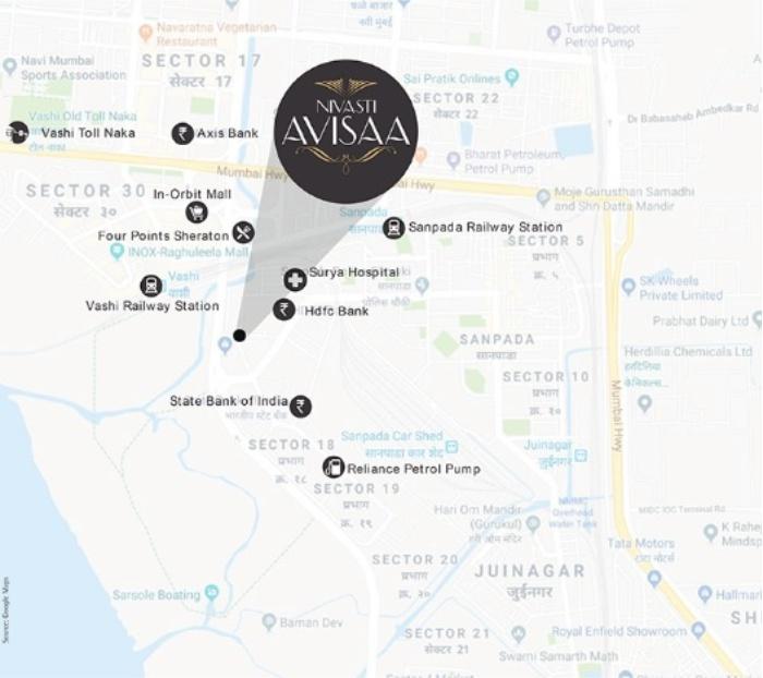 Asaya Avisaa Location Map