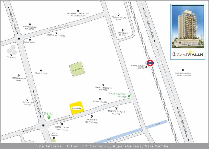Gami Vivaan Location Map