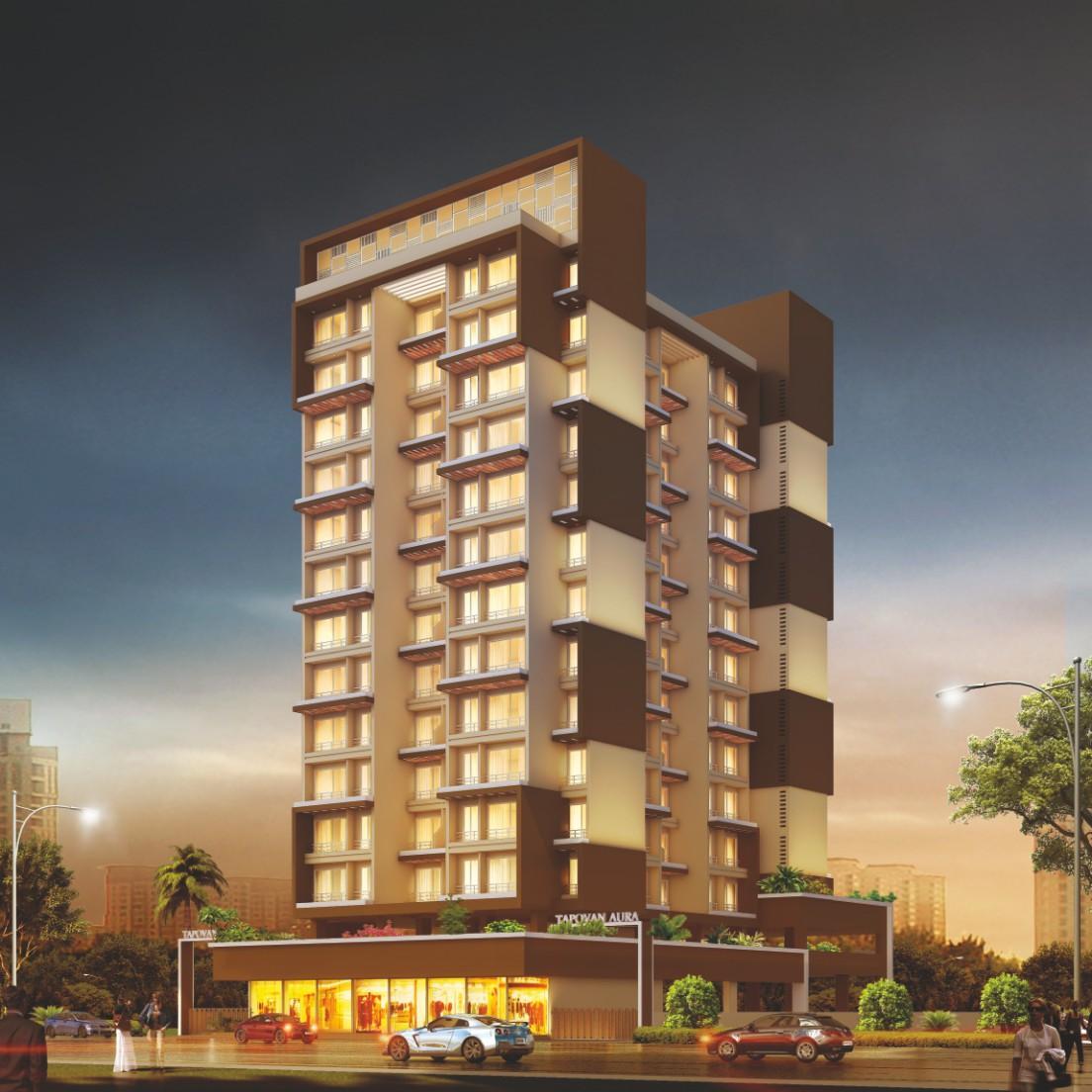 1 & 2BHK Flats in Ulwe Navi Mumbai in Tapovan Aura - Sqmtrs