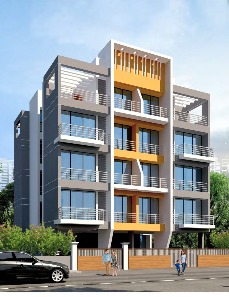 1 RK & 1 BHK Flats in Ulwe, Navi Mumbai in Supcon Shree Sadan