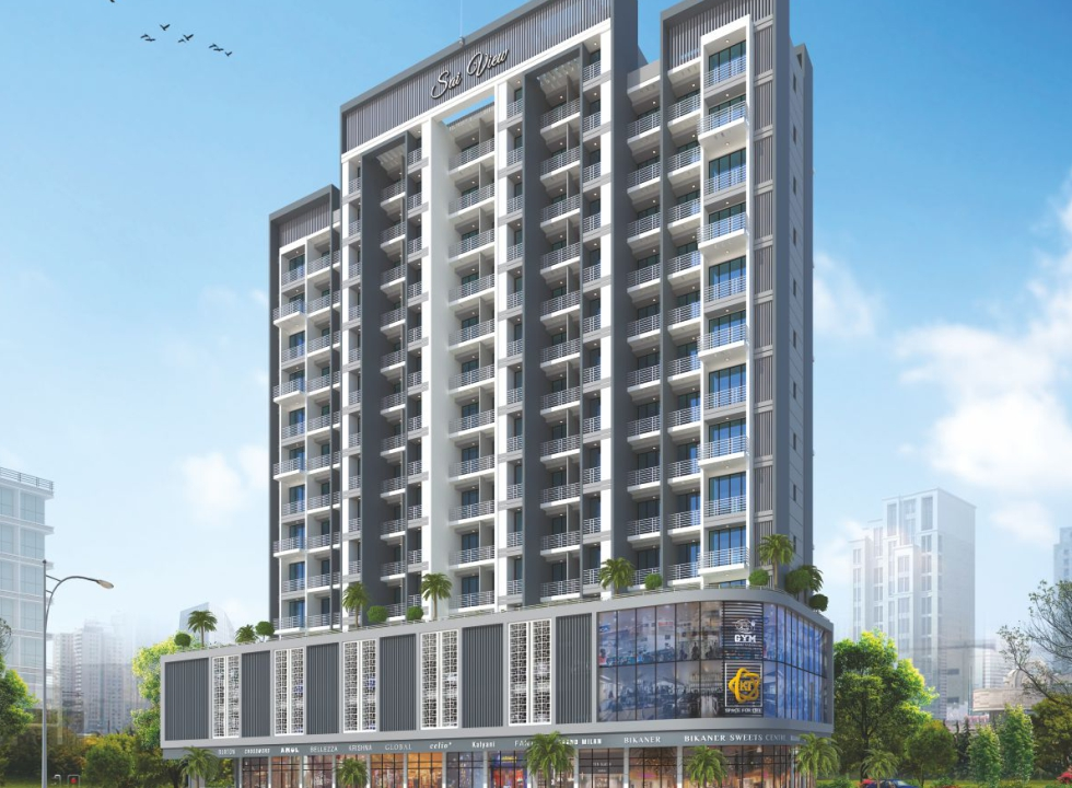 1 & 2 BHK Flats in Khanda Colony, New Panvel in Sai View