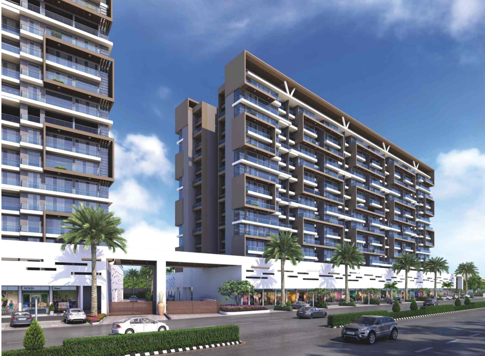 2 & 3 BHK Flats in Ulwe, Navi Mumbai in Delta Tower 2