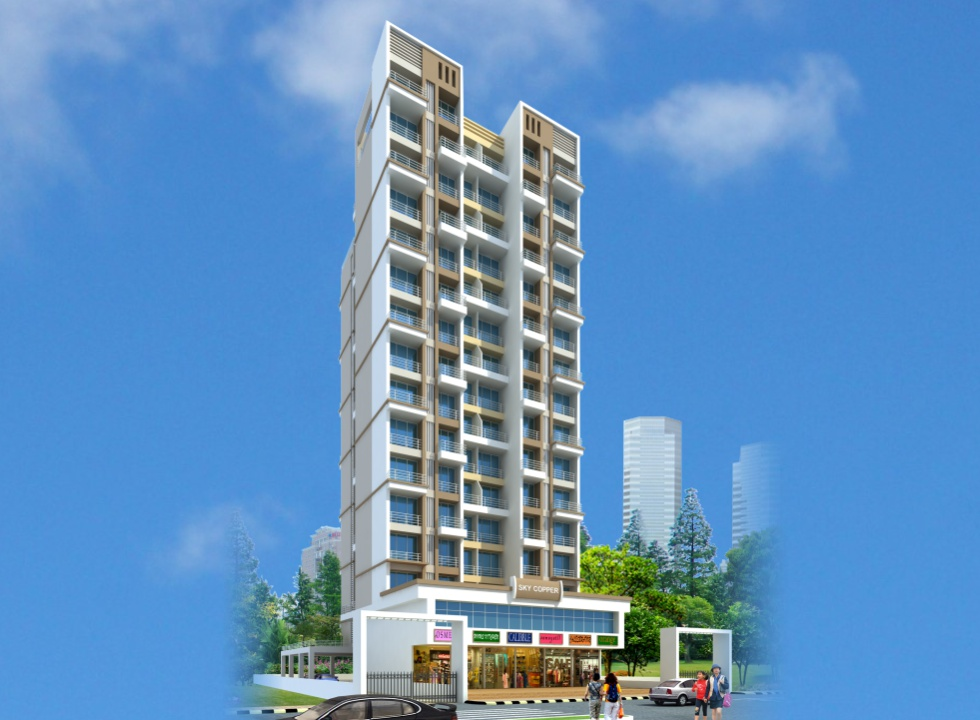 1BHK, 2 BHK Flats in Dronagiri Navi Mumbai in Sky Copper - sqmtrs