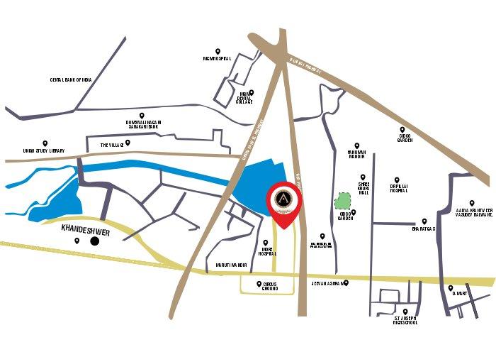 AURA LUXISCA Location Map