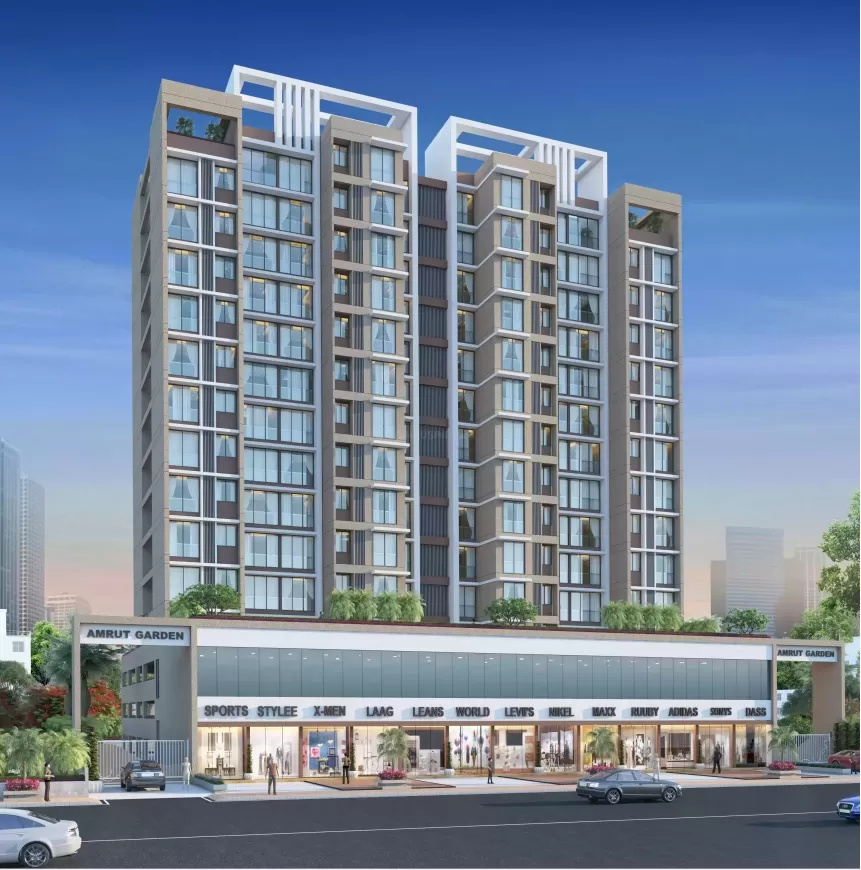 1 & 2 BHK Flats in Khanda Colony, Navi Mumbai in Amrut Garden