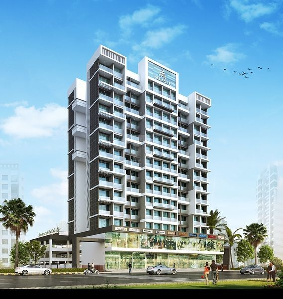 1 & 2 BHK Flats in Khanda Colony, Navi Mumbai in Qualcon Alliance