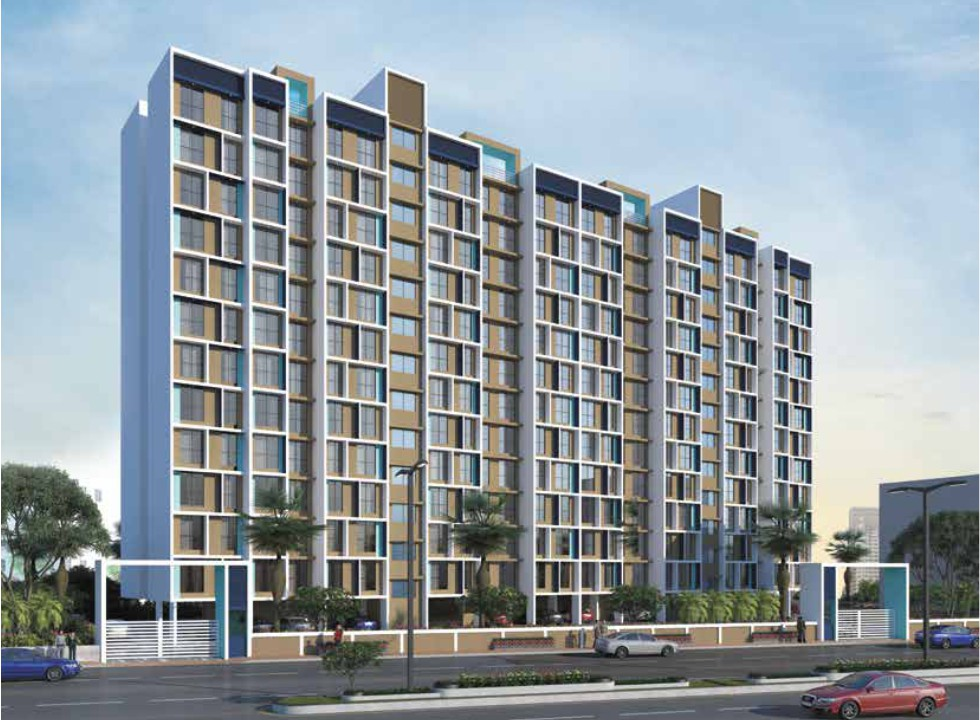 1 & 1BHK+Studio Flats in Khanda Colony, Navi Mumbai in Neelsidhi Infinity