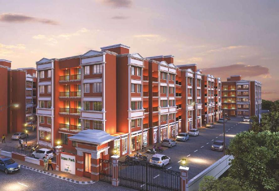 1 RK, 1 & 2 BHK Flats & Shops in Palghar in Irasa Park