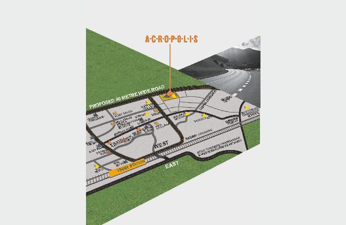 Bhoomi Acropolis Location Map