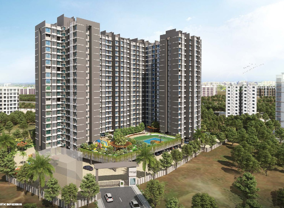 1 & 2 BHK Flats & Shops in Virar West in Bachraj Lifespace