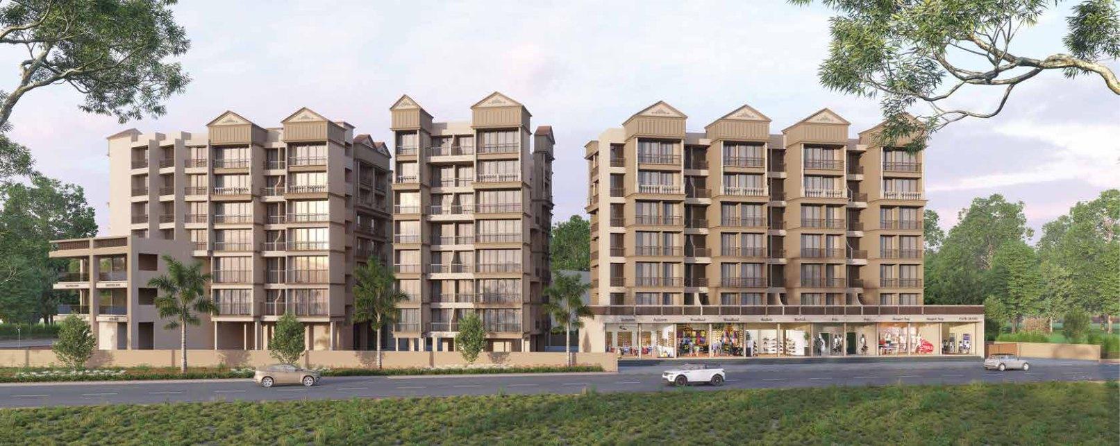 1 & 2 BHK Flats in Neral Mumbai in Laxmi Icon - Sqmtrs