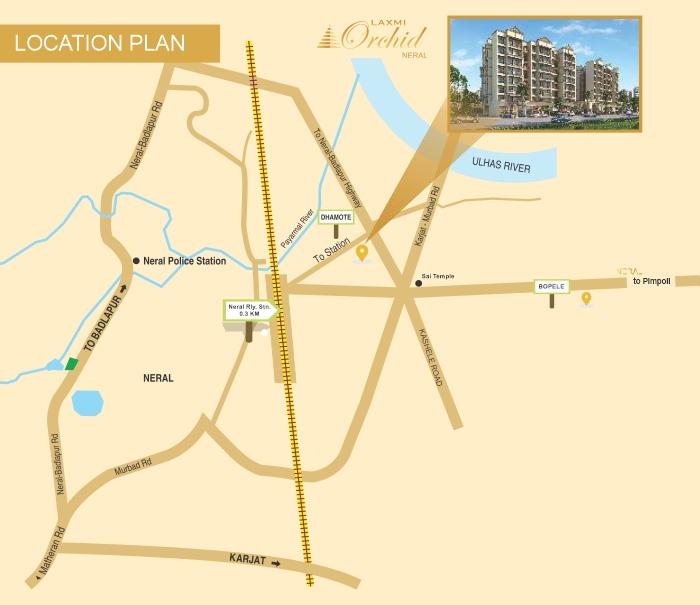 Laxmi Orchid Location Map