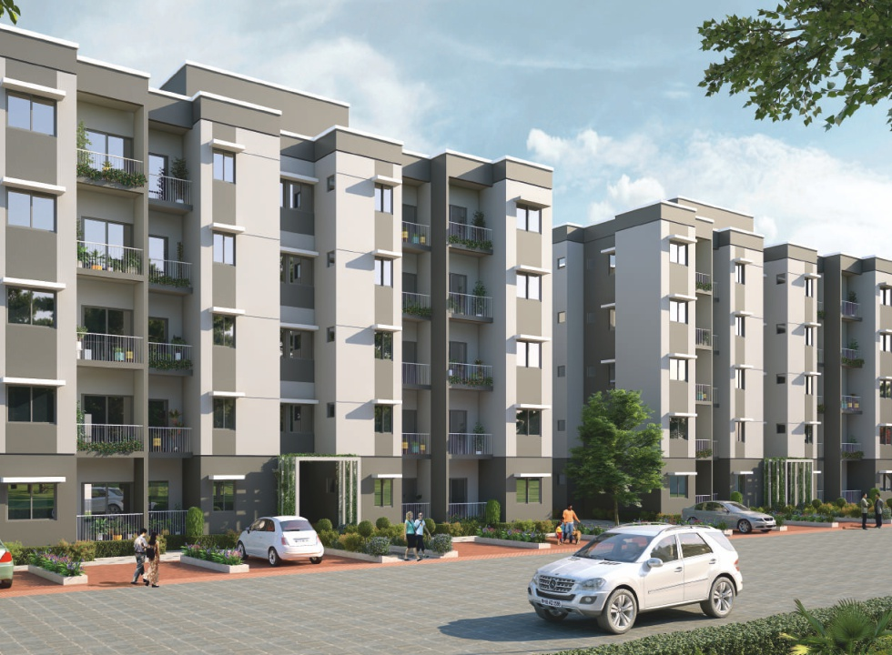 1RK, 1 BHK Flats & Shops in Neral, Karjat, Raigad. in Olympeo Neo City
