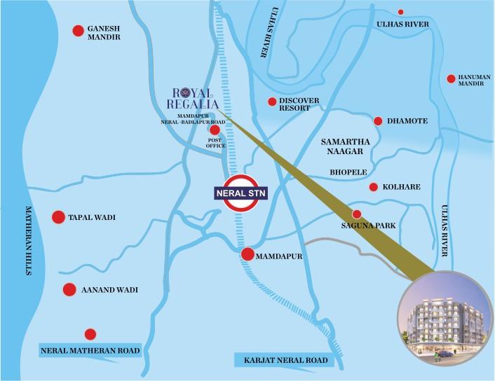 Royal Regalia Location Map