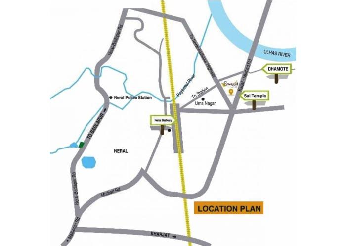 Swagat Village Location Map