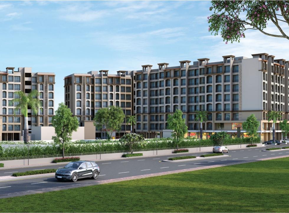 1Rk, 1 & 2 BHK Flats in Neral Mumbai in Dharti Divine Capital - Sqmtrs