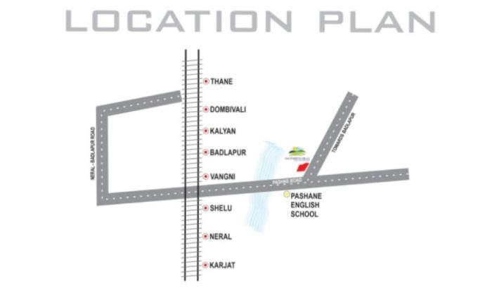 Sai Enrich Hills Location Map