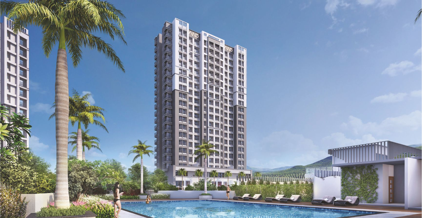 1 & 2 BHK Flats in Diva Mumbai in And Rose - Sqmtrs