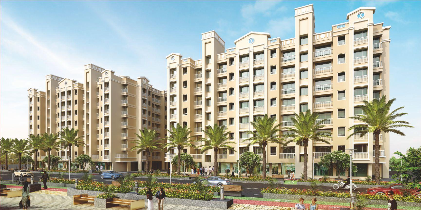 1Rk, 1 & 2 BHK Flats in Vangani Panvel Mumbai in Tulsi V City - Sqmtrs
