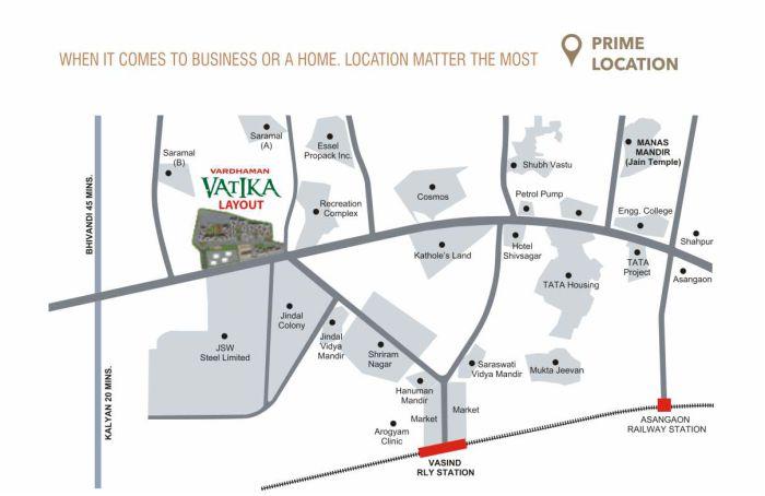 Vardhaman Vatika -Phase II Location Map