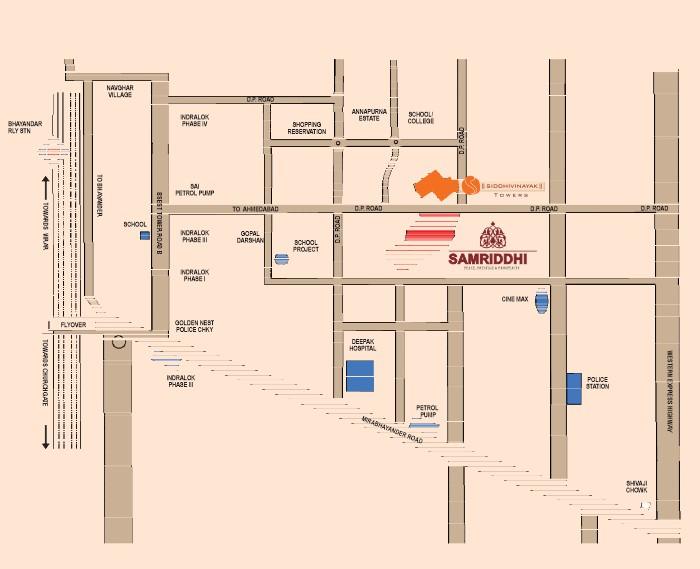 AG Samriddhi Location Map