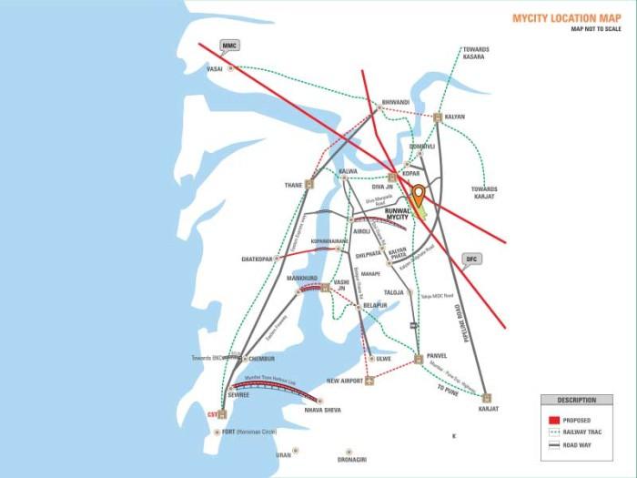 Runwal My City Location Map
