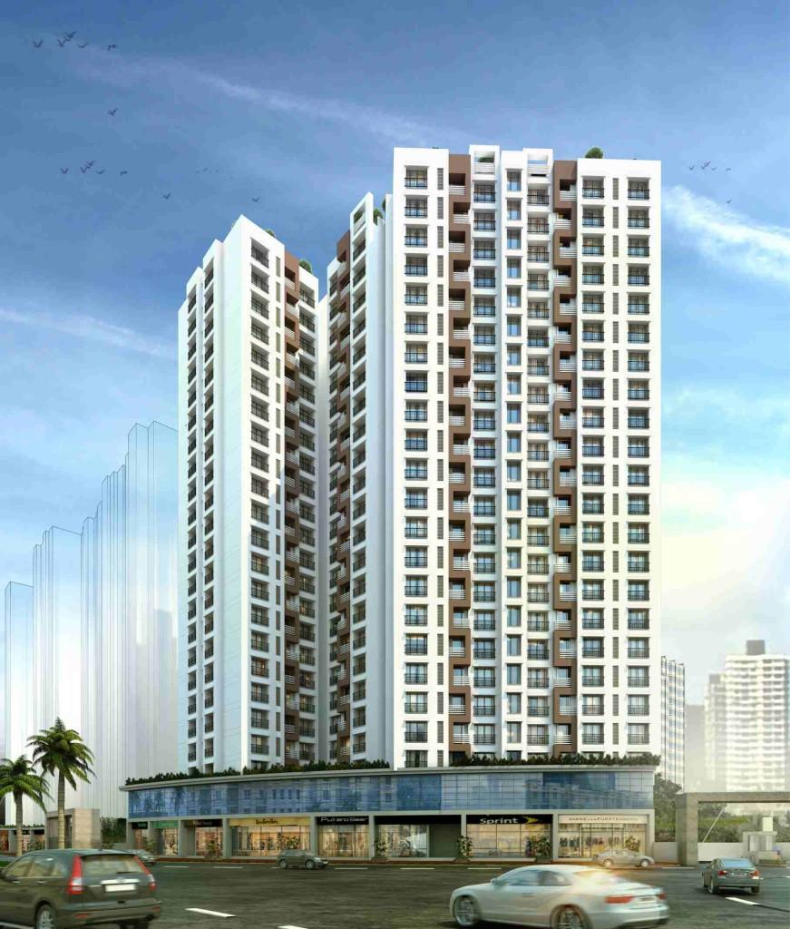 1, 2 & 3 BHK Flats & Shops in Mira Road East - 401104 in Delta Vrindavan