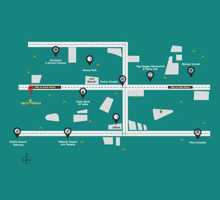 Shree Ramjeevdani Mukundam Location Map