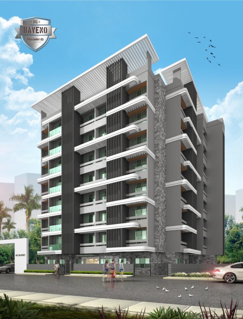 1 & 2BHK Flats in Mira Bhayander  West Mumbai in RNA NG Baveno - Sqmtrs