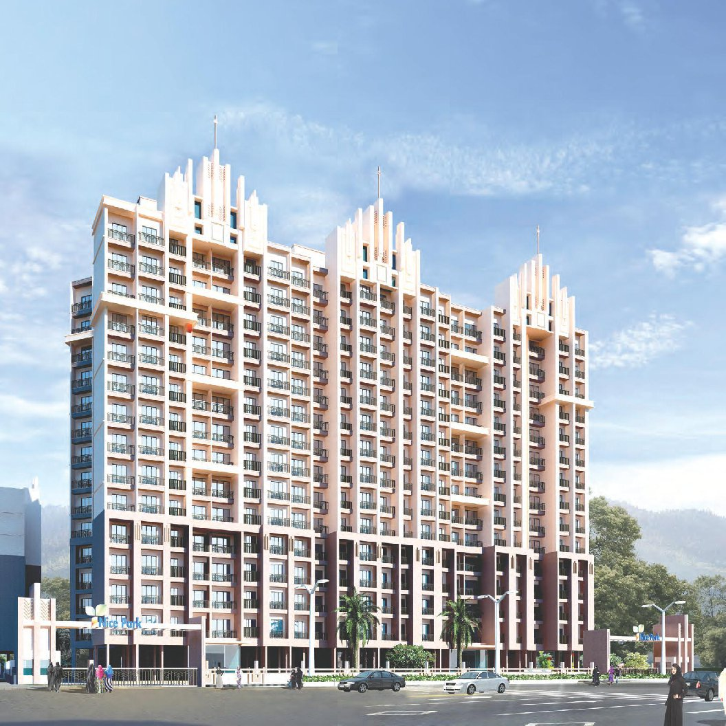 1 & 2 BHK Flats & Shops in Shilphata in Nice Park