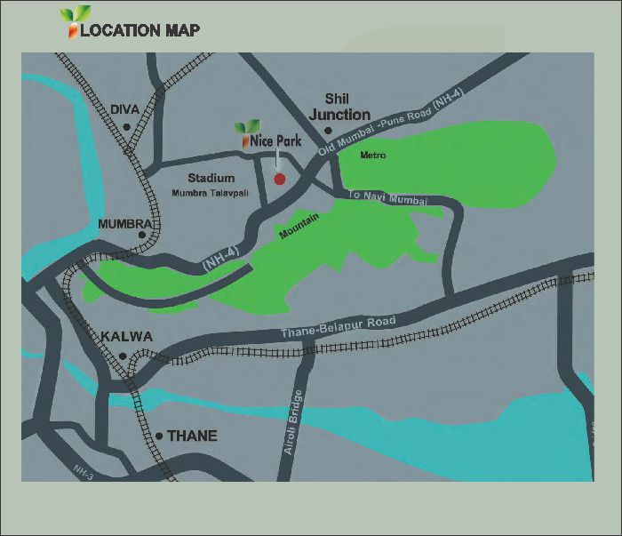 Nice Park Location Map
