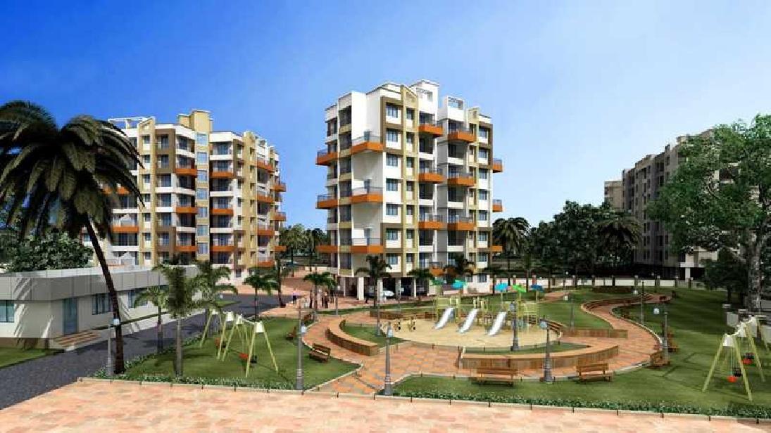 1 & 2 BHK Flats & Shops in Ambernath (West) in Satyam Oleander