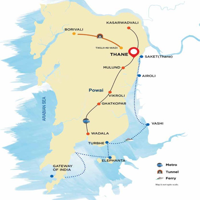 Hiranandani Eagleridge Location Map