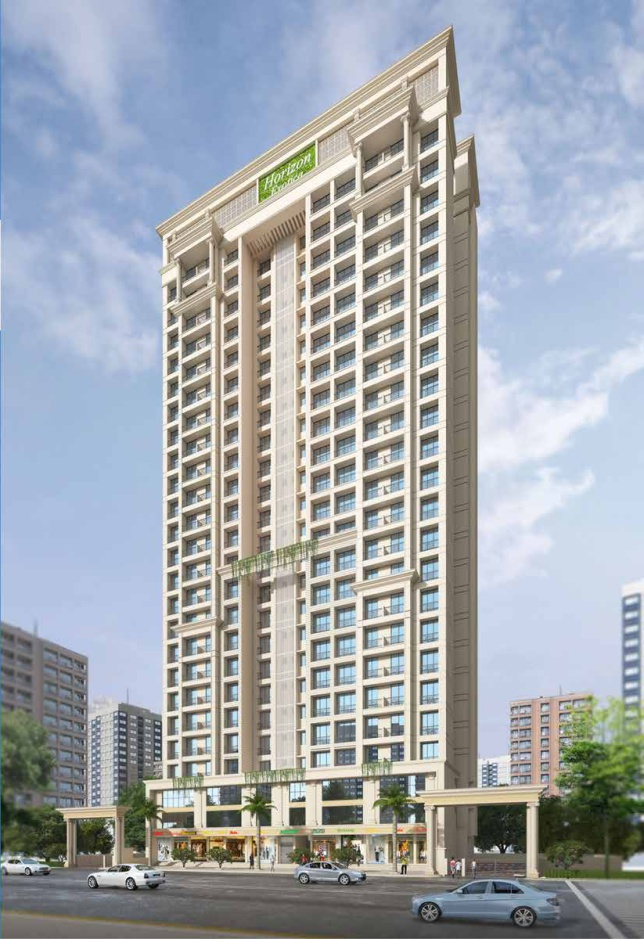 1 & 2 BHK Flats & Shops in New D P Road, Thane (W). in KM Horizon Exotica