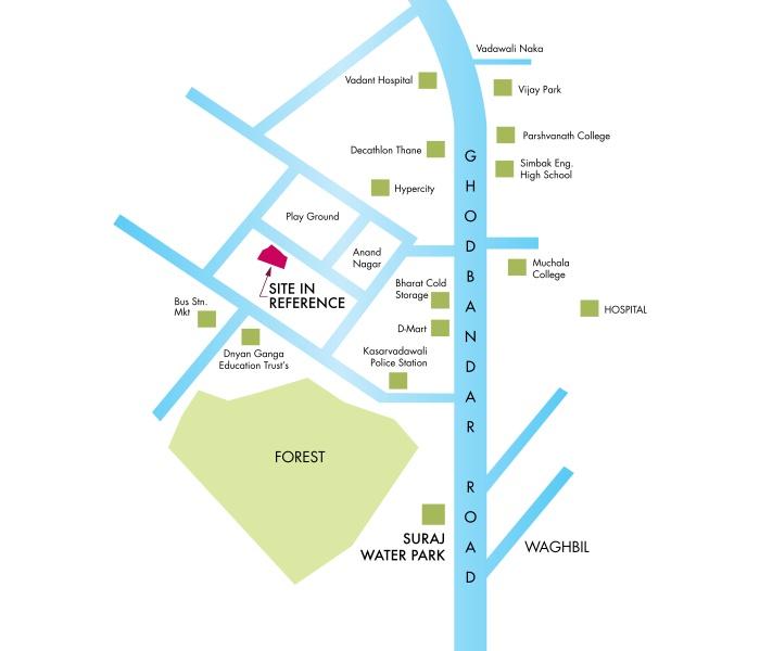 KM Horizon Exotica Location Map