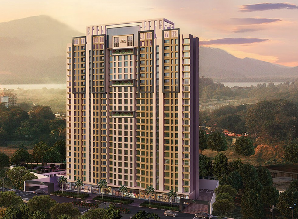 1 & 2 BHK Flats in Thane (W) - 400615 in Vihangs Vermont