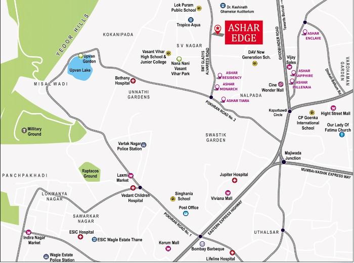 Ashar Edge Location Map